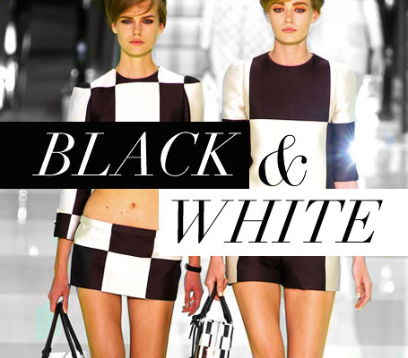 Black and white trend here