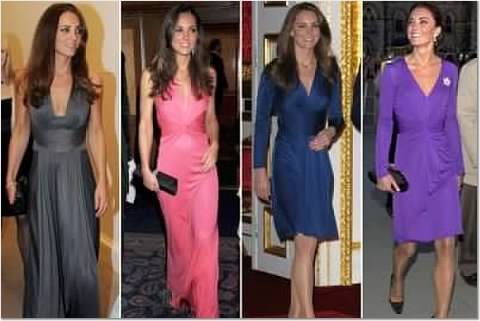 Issa London dresses, including the famous blue engagement dress. Source here
