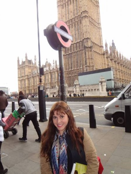 London, Apr 18 - the Parliament is one of my favorite places and I always take a picture there!