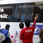 Korean national team bus
