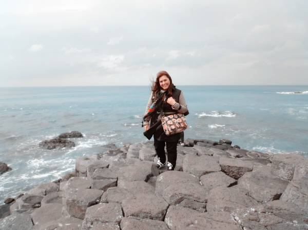 Giant's Causeway. and amazing experience. Net to it, Bushmills, where the famous whiskey is produced