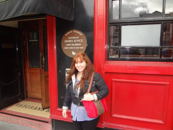 I went to the place where James Joyce's mother was born - Vaughan's