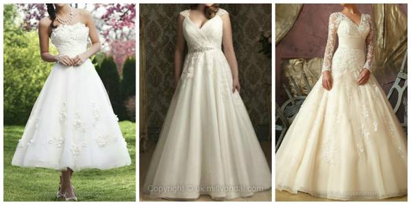 Wedding Dresses – so lovely!