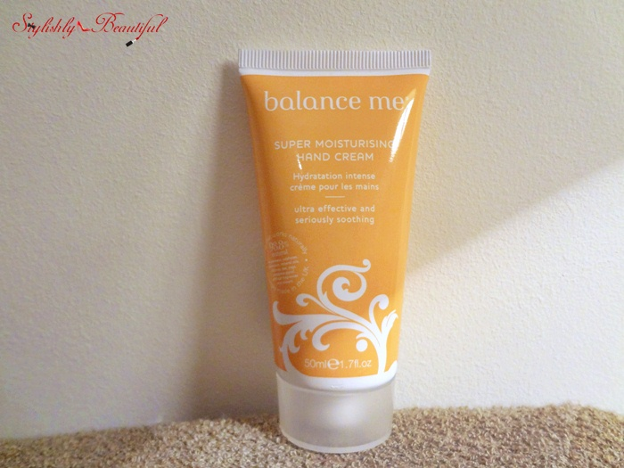 Balance Me Super Moisturising Hand Cream review‏ here