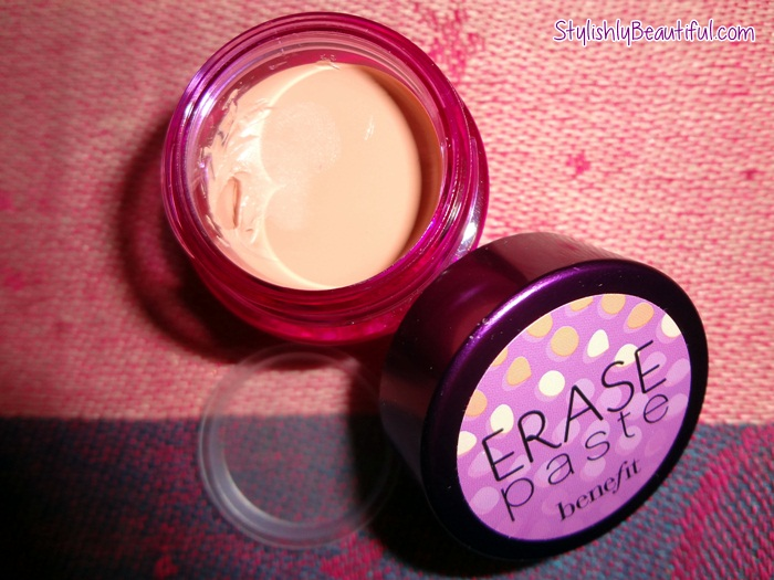 Benefit Erase paste concealer review here