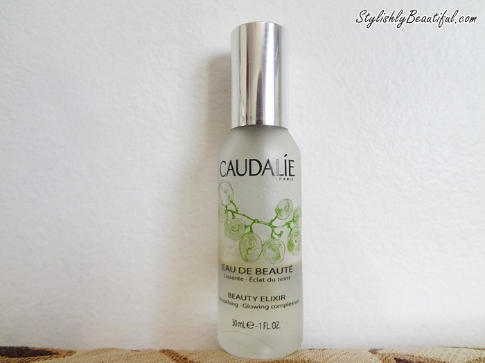 Caudalie beauty elixir smoothing glowing complexion review here