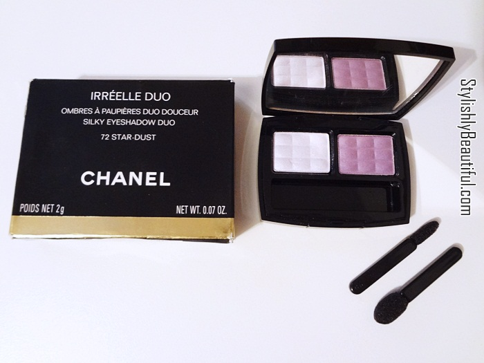 Chanel eye shadows review here