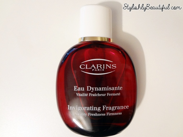 Clarins Eau Dynamisante review here