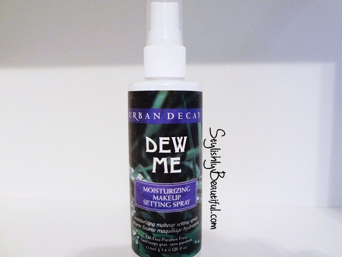 Urban Decay Dew me makeup setting spray review here