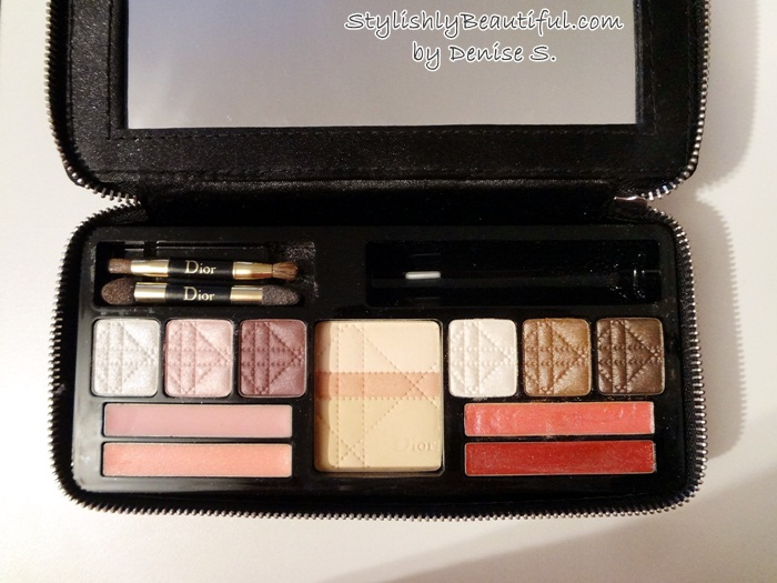 Dior makeup palette review here