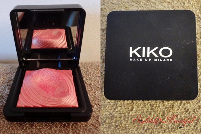 Kiko Water eyeshadow review here