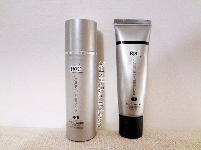 RoC Sublime Energy duo night cream Review