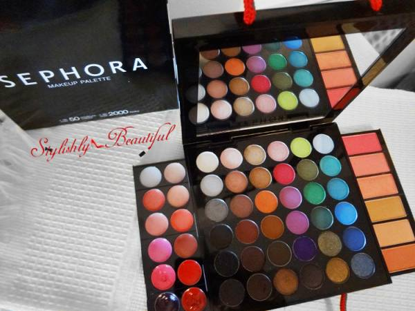 Sephora Palette Review here