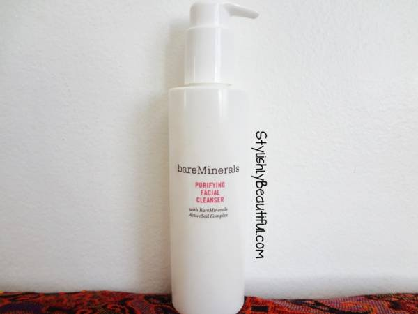 BareMinerals cleansing milk Review here