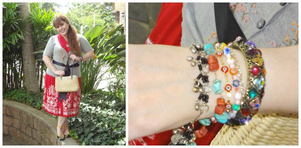 Some bracelets and the another part of the garden