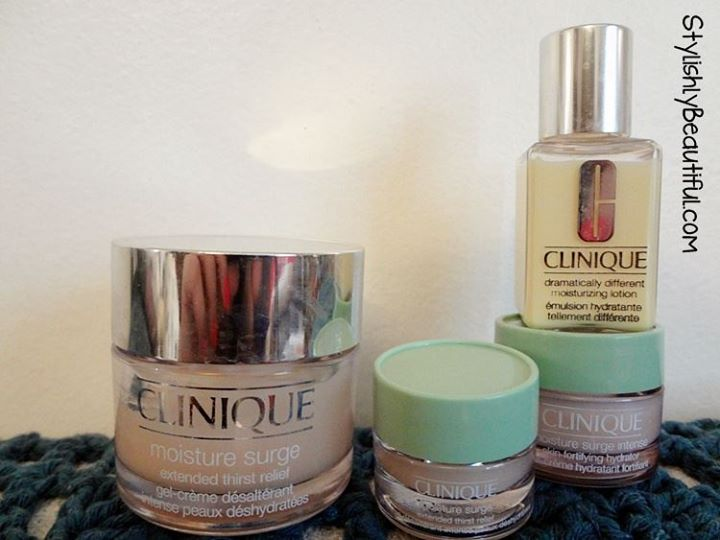Clinique Moisture Surge Thirst Relief and Dramatically Different Moisturizing Lotion Creams review