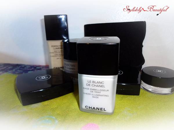 Chanel Blanc de Chanel Review here