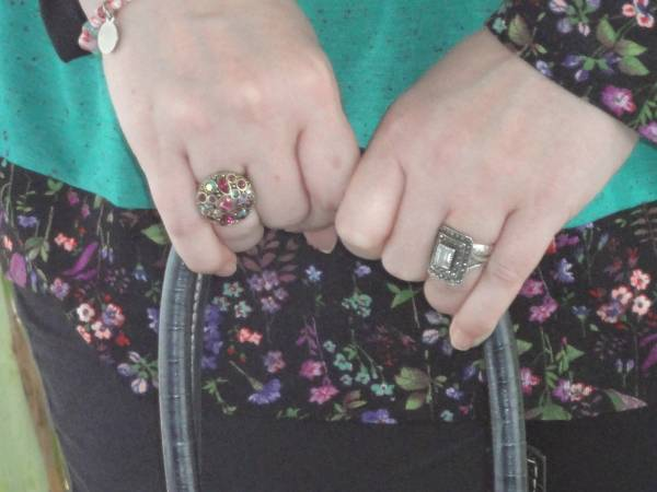 Just some rings I wore on March 22nd