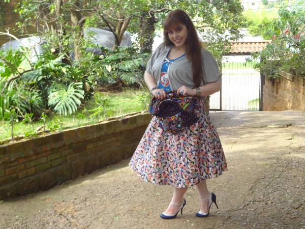 I love this skirt! I chose the fabric and Electric Gypsy made it for me!