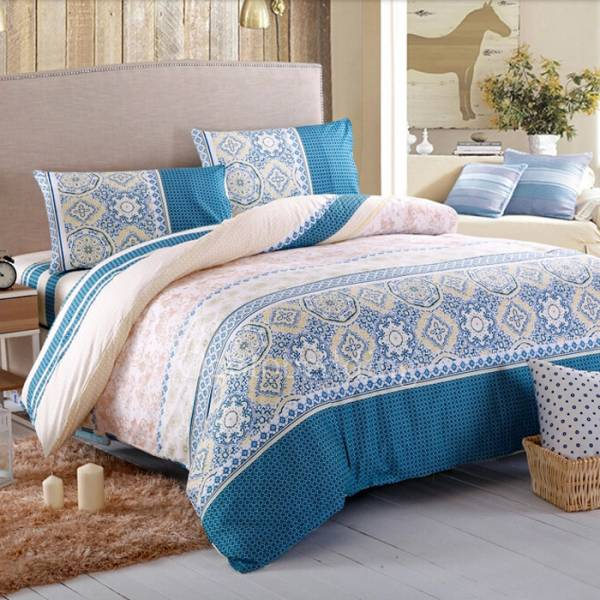 retro elegant dark teal chic patterned comforter bedding sets