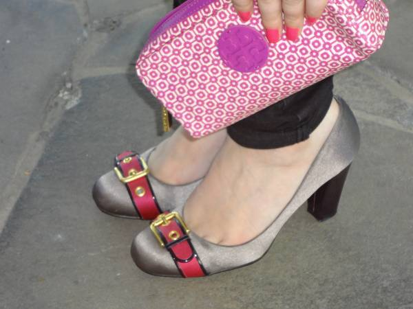 Tory Burch pouch. Cavage shoes