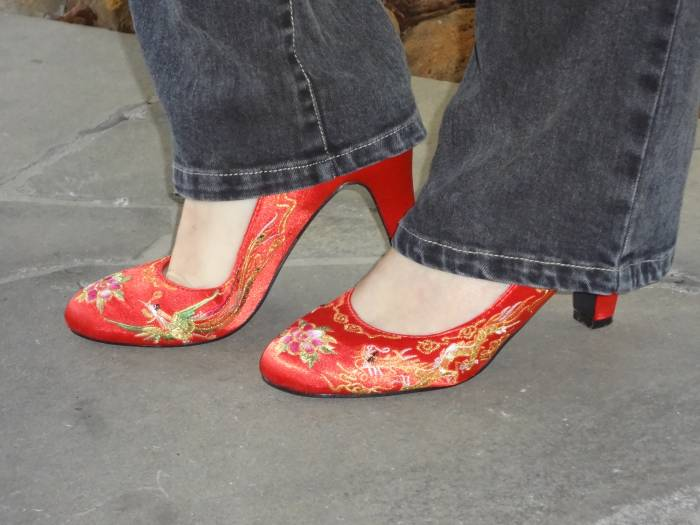 Chinese wedding shoes