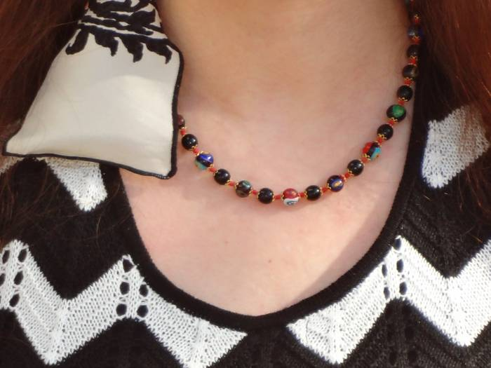 Murano necklace, bought in Venice