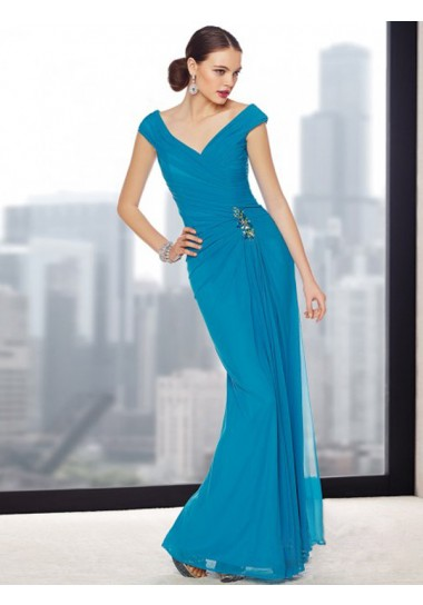 Straps Sleeveless Sweep/Brush Train Regency Evening Dresses One Shoulder Short Floor-length Long Evening Dresses