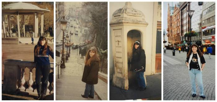 Some lovely parts of France: Grasse and Paris for the new year of 2000; then Vienna and Malm Malmö
