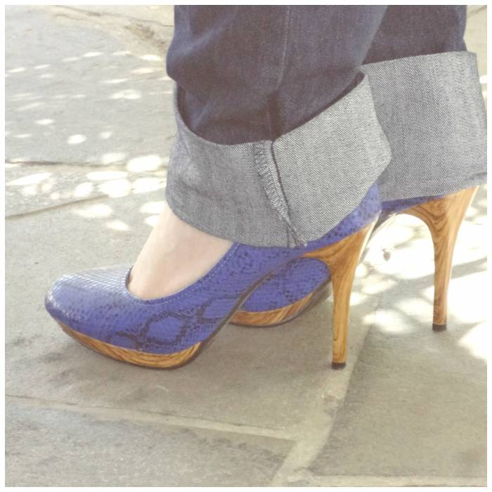 Shies, with nice wooden heels