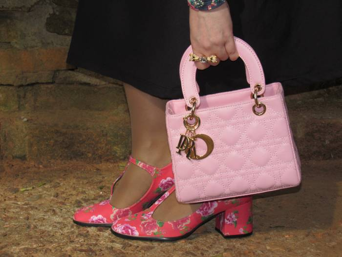 Louloux shoes and Dior bag