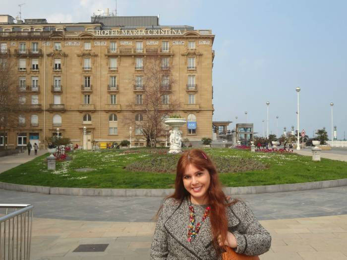 Hotel Maria Cristina, where the stars stay