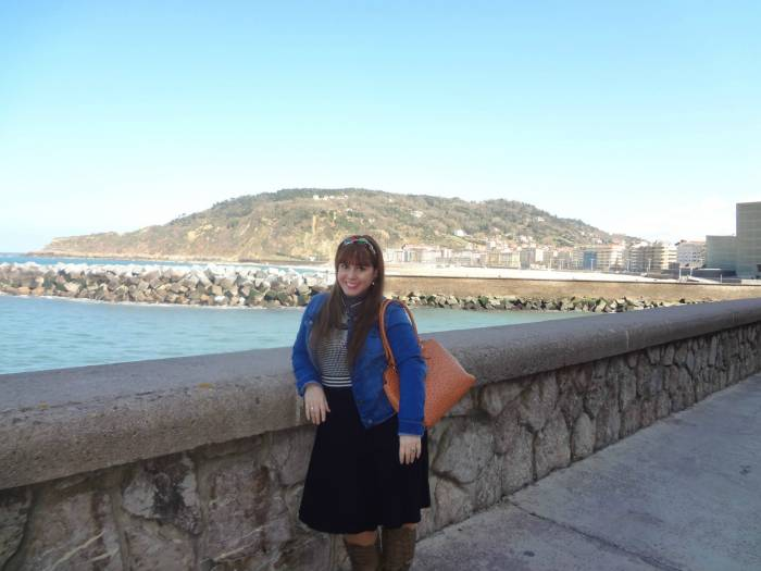 Paseo Nuevo in San Sebastian, one of the happiest times in my life - March 2016