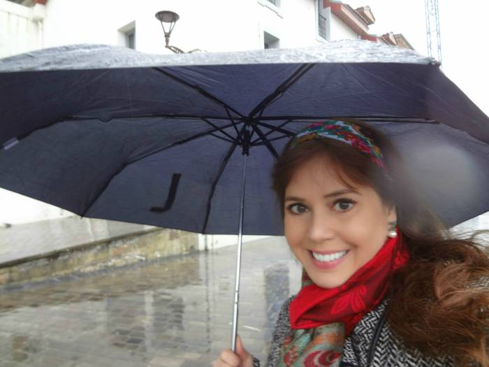 I loved San Sebastian even when raining! Here, going to the Aquarium