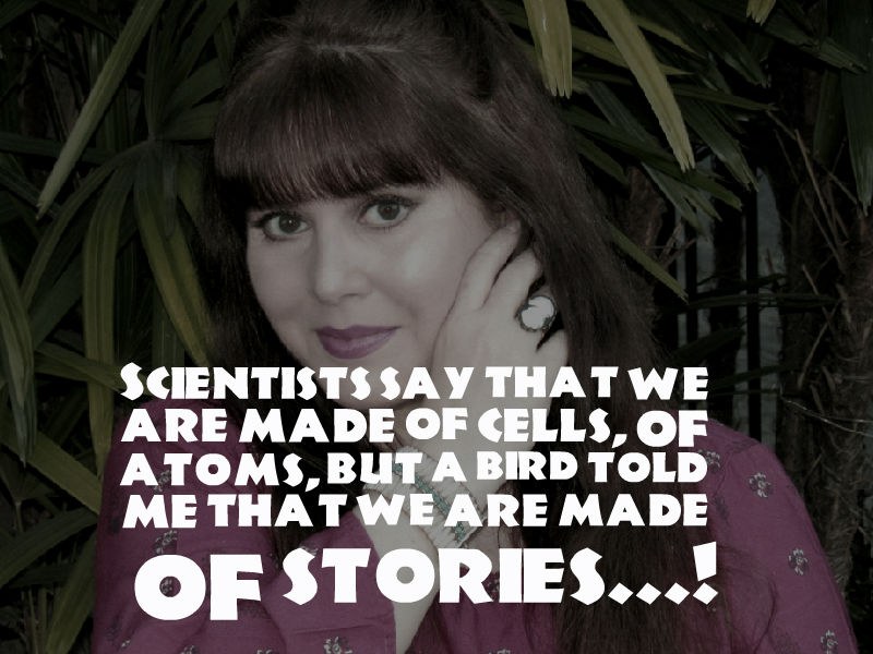 We all have our own stories, that shape who we are!