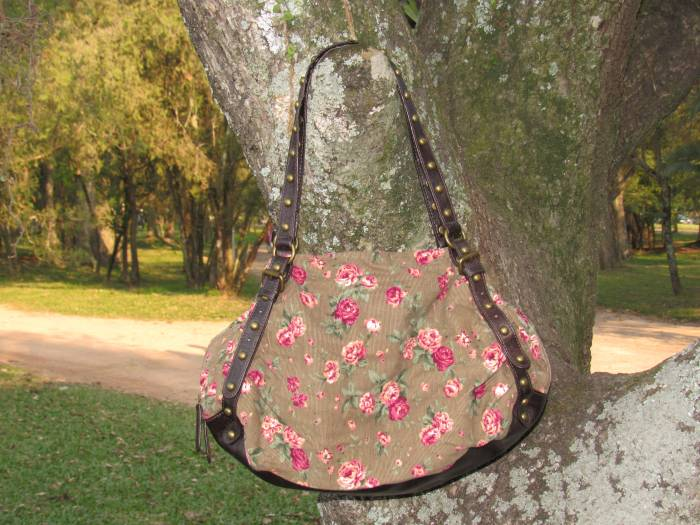 C & A floral bag from Hanover