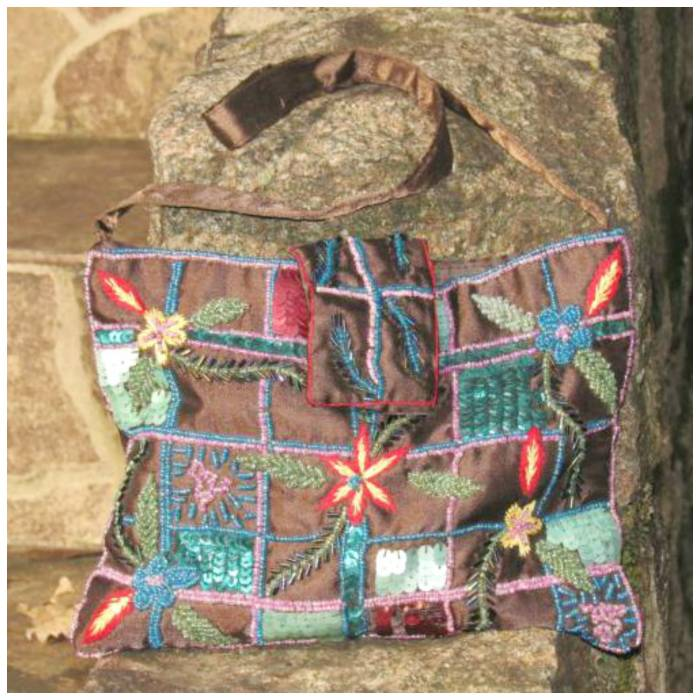 Indian sequin bag, I love it!