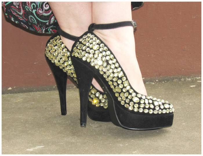 LYDC embellished shoes