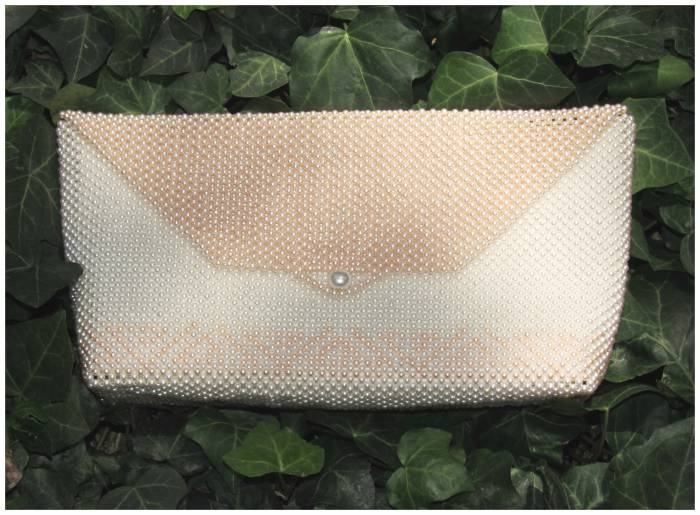 Pearl bag, handmade, from Australlia