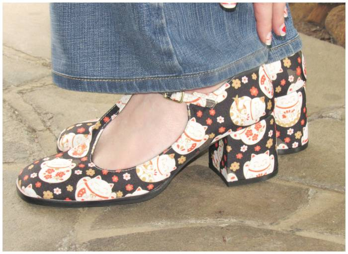 Maneki-neko shoes, Louloux