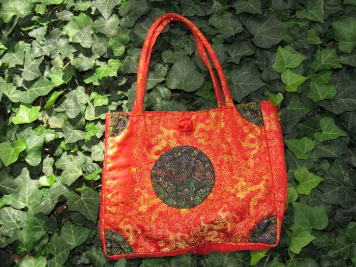 Chinese patterned bag