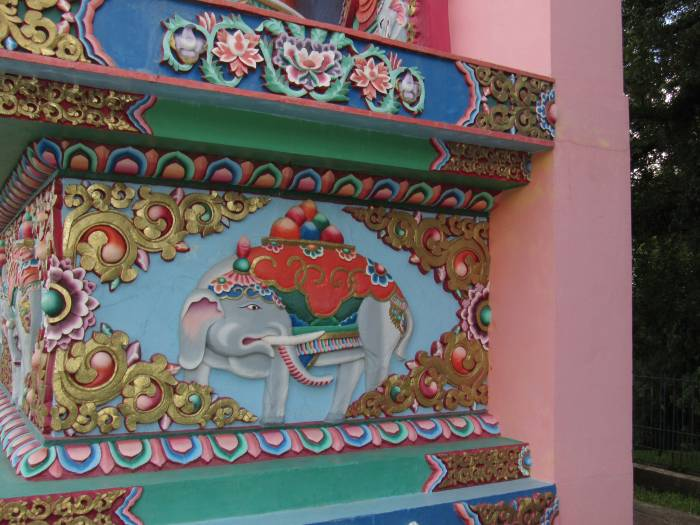 A Buddhist Temple detail, a trip last weekend