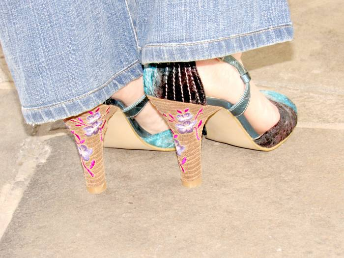 Love the heels :)