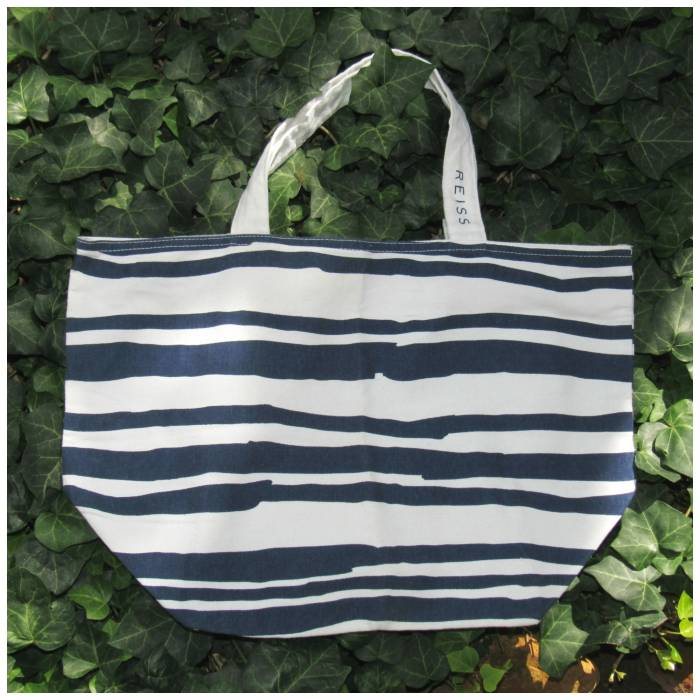 Striped bag, Reiss