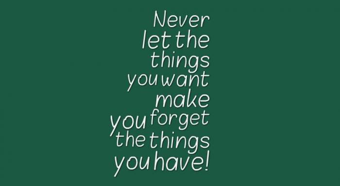 Things-you-have-quote