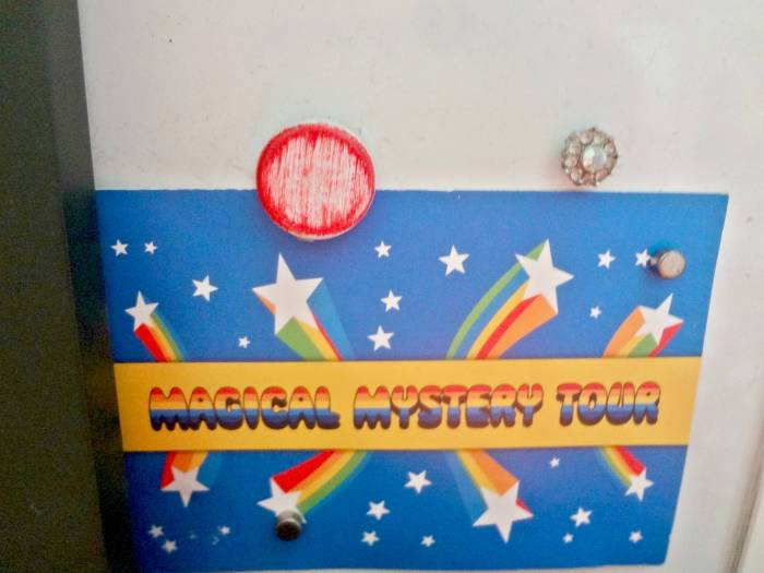 My Magical Mystery Tour card from another year