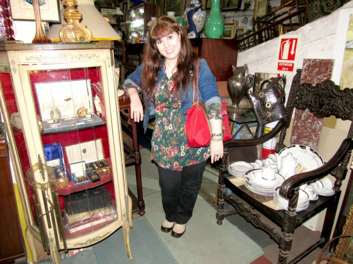 One of the Antique Shops I visited