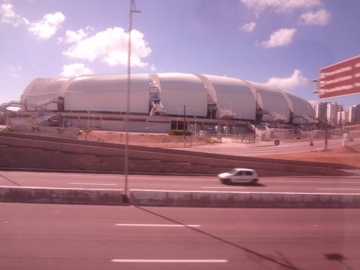 Natal stadium - called Dunes' Arena. The city has many dunes