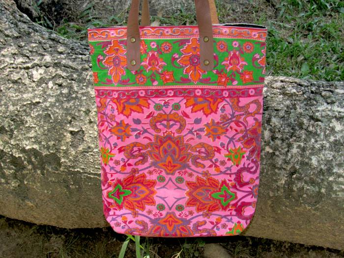 A beautiful Indian bag that I bought in Rio de Janeiro