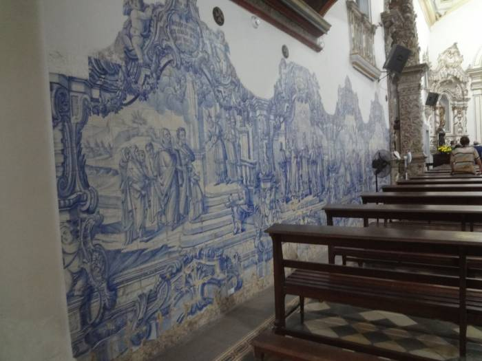 Beautiful tiles in another church